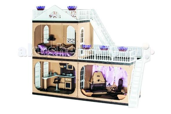Кукольные домики и мебель Огонек Кукольный домик Коттедж Коллекция (без мебели) куплю дом или коттедж в солотче