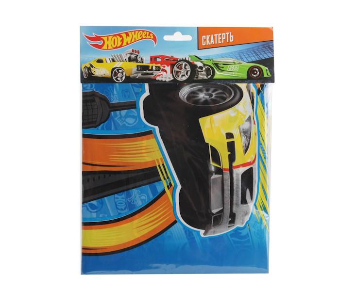Товары для праздника Веселый праздник Скатерть Hot Wheels 140х180 см набор для проведения детского праздника веселый день рождения
