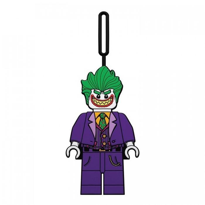 Детские чемоданы Lego Batman Movie Бирка для багажа The Joker разноцветная мозаика кораблик 2604