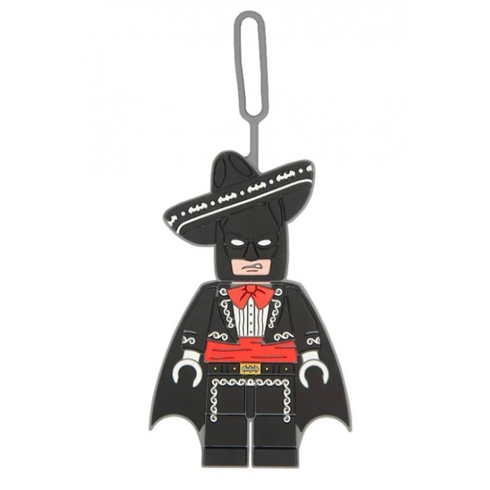 Детские чемоданы Lego Batman Movie Бирка для багажа Mariachi Batman