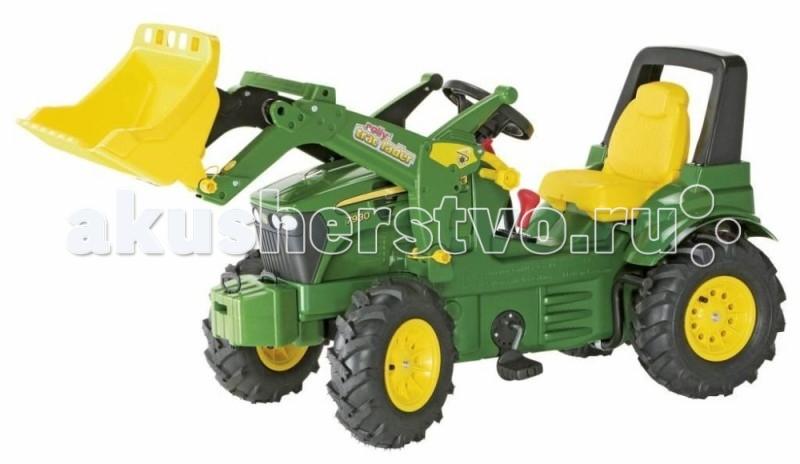 Rolly Toys Педальный трактор John Deere 7930 (надувные колеса)