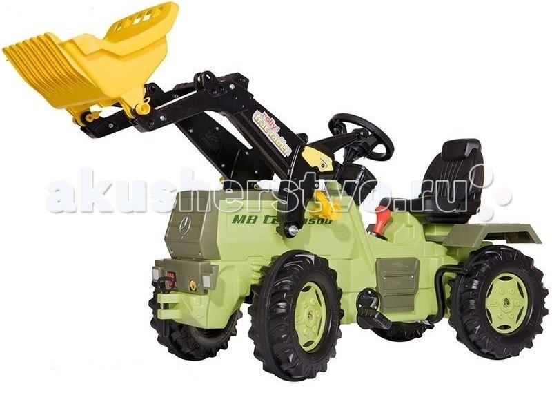 Rolly Toys MB Trac 1500 c ковшом