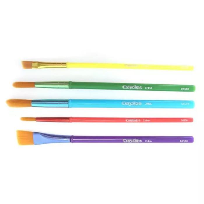Crayola кисточки для красок 5 шт. шт 3007