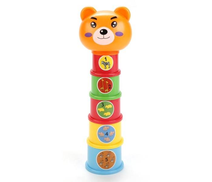 Развивающие игрушки Умка Пирамидка Мишка развивающие игрушки умка проектор фиксики