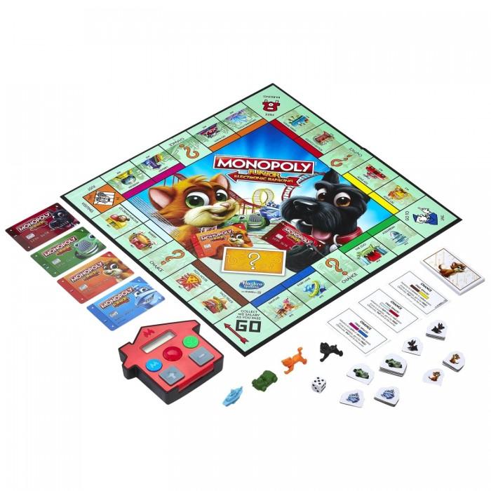Купить Настольные игры, Monopoly Games Игра настольная Монополия Джуниор с картами