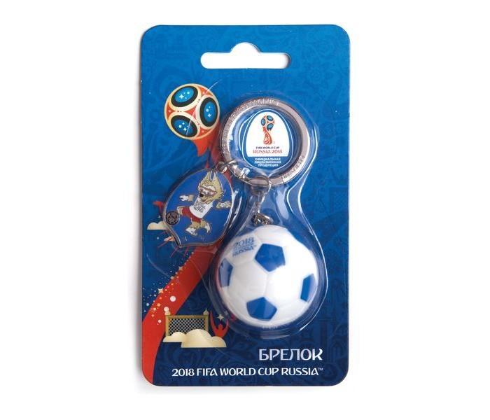 Сувениры к ЧМ по футболу 2018 FIFA World Cup Russia Брелок Мяч 3D СН016