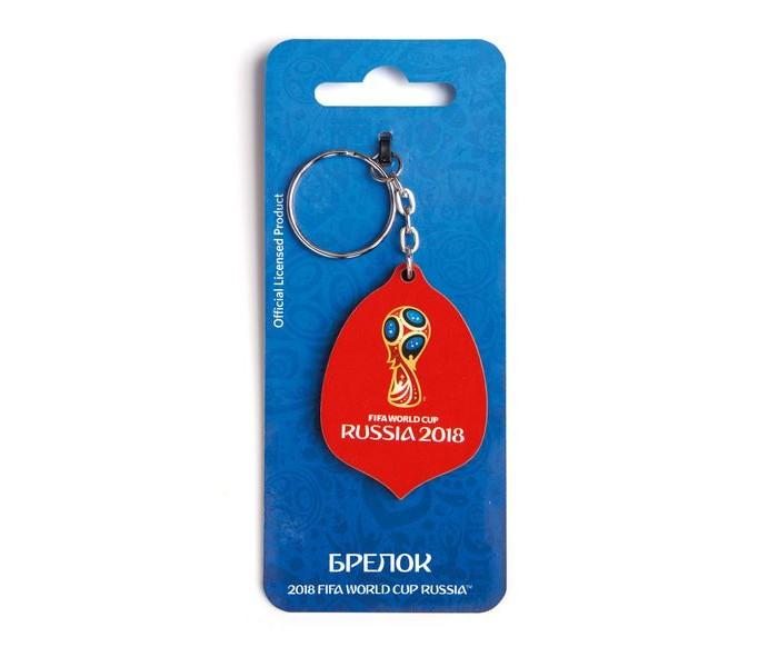 Сувениры к ЧМ по футболу 2018 FIFA World Cup Russia Брелок Кубок деревянный сувениры