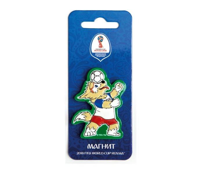 Сувениры к ЧМ по футболу 2018 FIFA World Cup Russia Магнит Забивака Фристайл