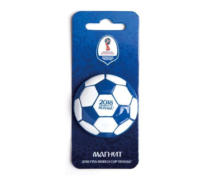 Сувениры к ЧМ по футболу 2018 FIFA World Cup Russia Магнит Мяч