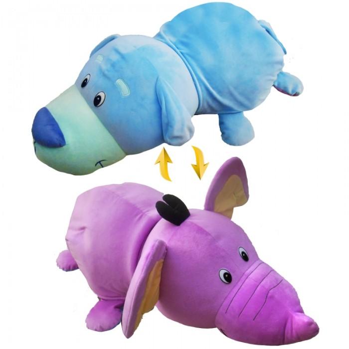 Мягкая игрушка 1 Toy Вывернушка Щенок-Слон 2 в 1 76 см
