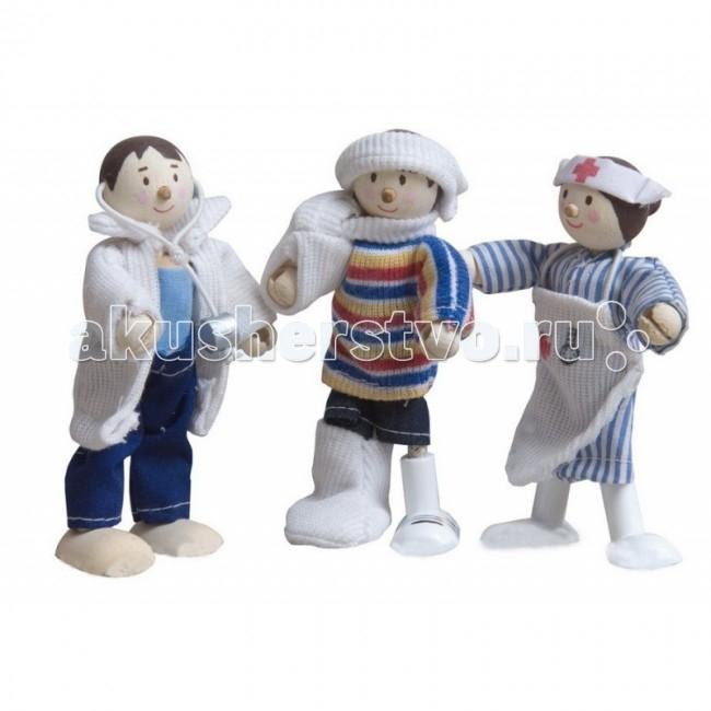 Куклы и одежда для кукол LeToyVan Набор Медицинская служба деревянные игрушки letoyvan игровой набор кролик и морковка