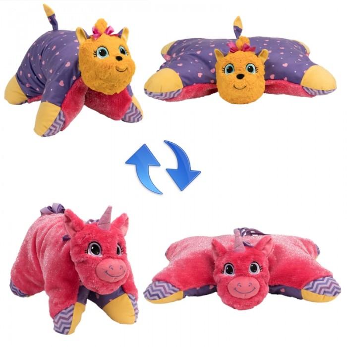 Купить Мягкие игрушки, Мягкая игрушка 1 Toy Вывернушка Лавандовый Единорог-Щенок Йорк 2 в 1