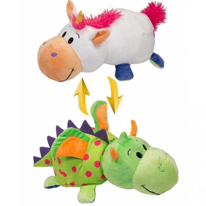 Купить Мягкие игрушки, Мягкая игрушка 1 Toy Вывернушка Единорог-Дракон 2 в 1 35 см