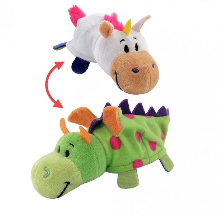 Купить Мягкие игрушки, Мягкая игрушка 1 Toy Вывернушка Единорог-Дракон 2 в 1 40 см