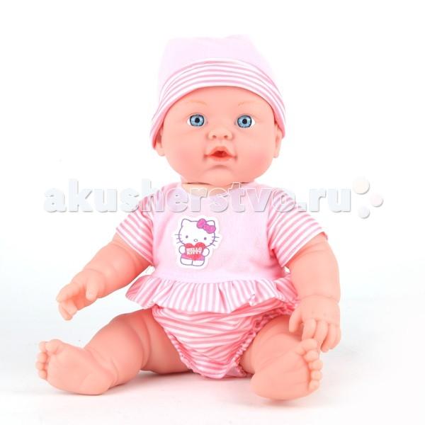 Куклы и одежда для кукол Карапуз Hello Kitty 30 см W21309A куклы карапуз пупс карапуз hello kitty 20 см 3 функции пьет писает закрывает глазки с аксессуарами