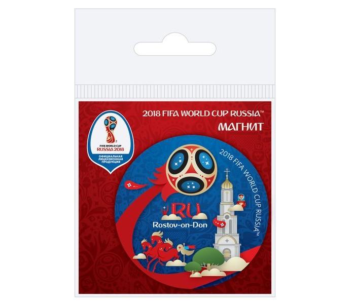 Сувениры к ЧМ по футболу 2018 FIFA World Cup Russia Магнит виниловый Ростов-на-Дону