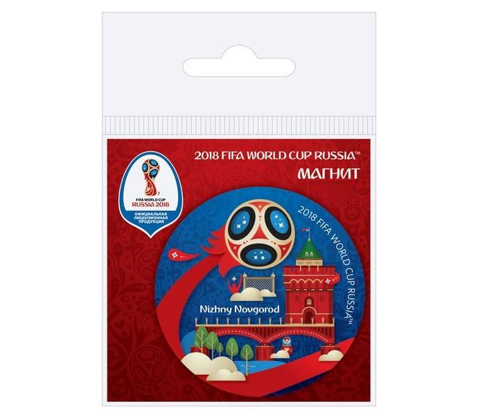 Сувениры к ЧМ по футболу 2018 FIFA World Cup Russia Магнит виниловый Нижний Новгород