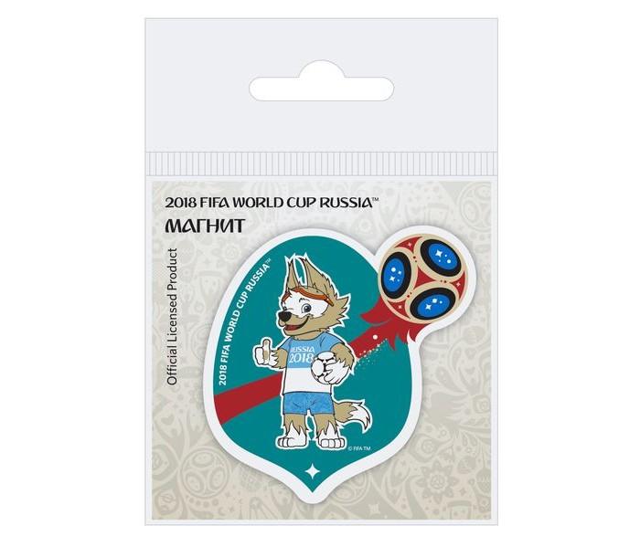 Сувениры к ЧМ по футболу 2018 FIFA World Cup Russia Магнит Забивака Аргентина