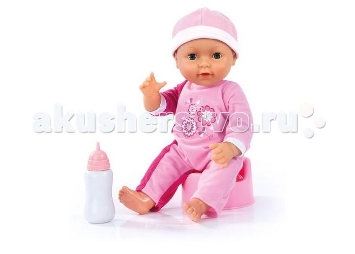Куклы и одежда для кукол Bayer Кукла пупс в одежде с аксессуарами 40 см нтм кукла пупс с бутылочкой и соской