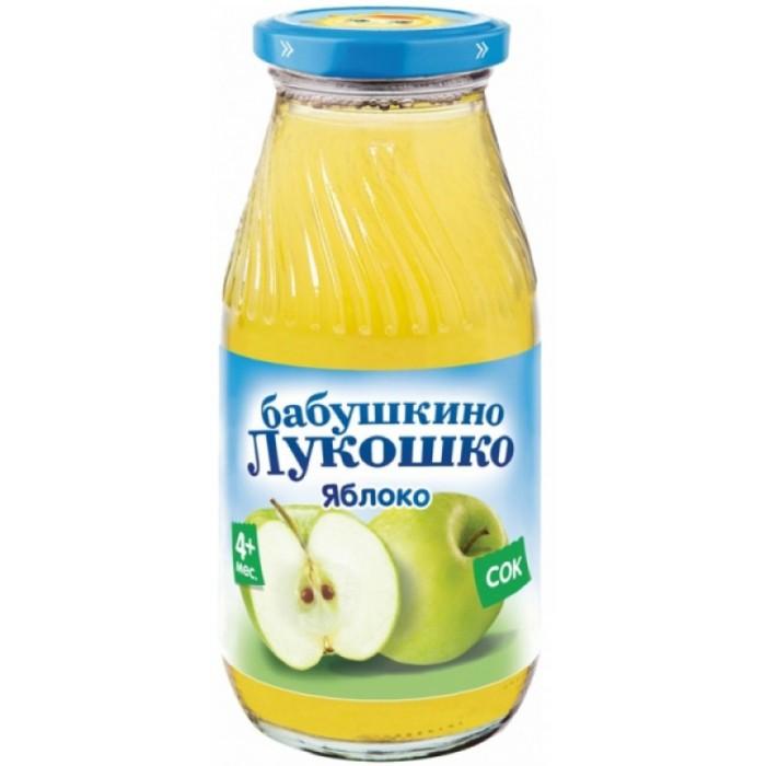 Соки и напитки Бабушкино лукошко Сок Яблоко с мякотью с 4 мес. 200 мл добрый сок яблочный 0 2 л