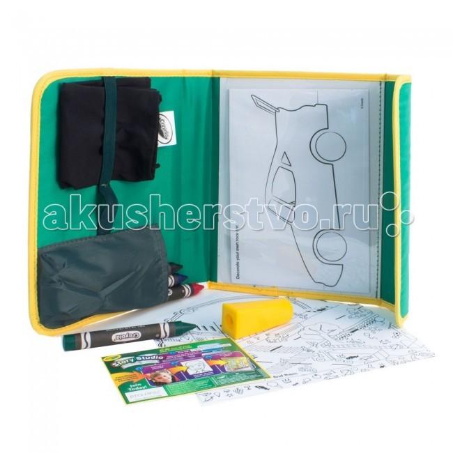 Принадлежности для рисования Crayola Набор для рисования в дороге Dry Erase, Принадлежности для рисования - артикул:54008