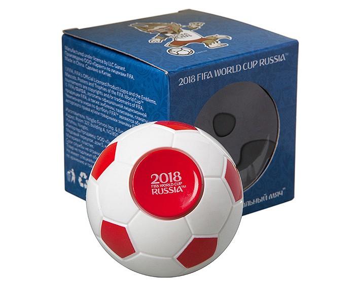 Сувениры к ЧМ по футболу 2018 FIFA World Cup Russia Вращающийся мяч-антистресс 6.5 см