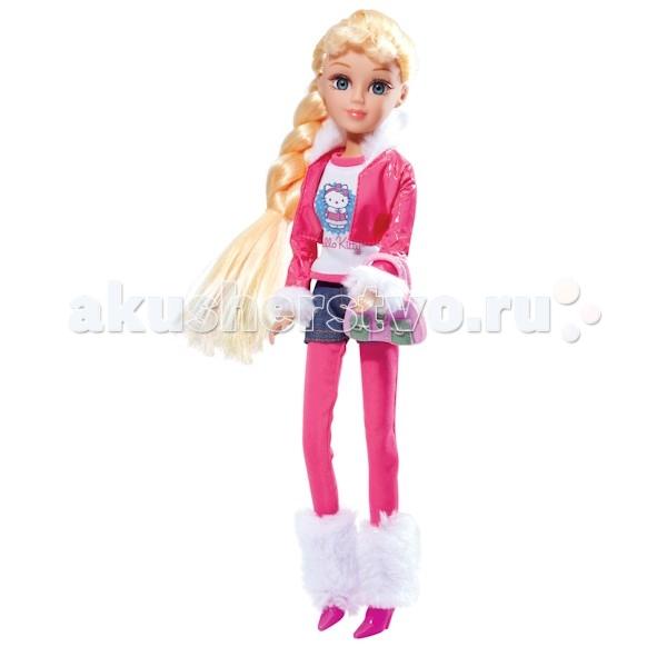 Куклы и одежда для кукол Карапуз Hello Kitty Мария Зимние приключения 29 см куклы карапуз пупс карапуз hello kitty