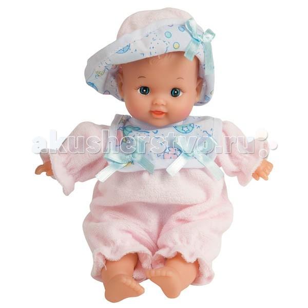 Куклы и одежда для кукол Карапуз Пупс 24 см куклы карапуз пупс карапуз 20см 3 функции пьет писает закрывает глазки в ванне с аксессуарами