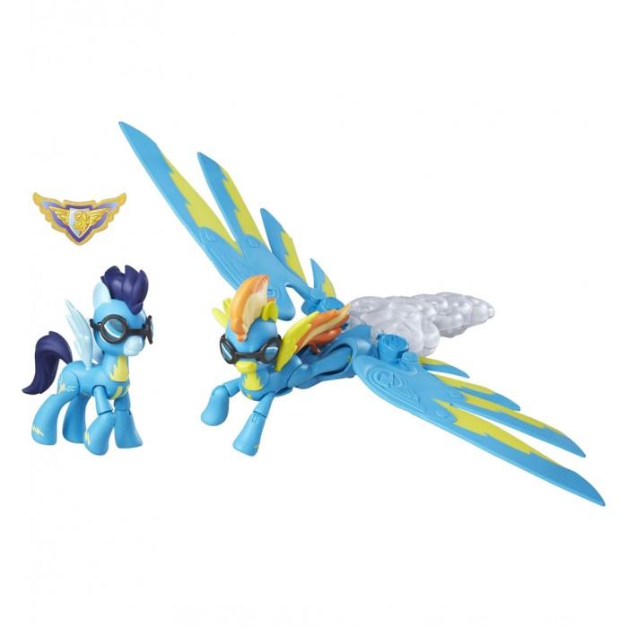 Игровые наборы Май Литл Пони (My Little Pony) Хранители Гармонии Вондерболты звуковая радуга, Игровые наборы - артикул:540416