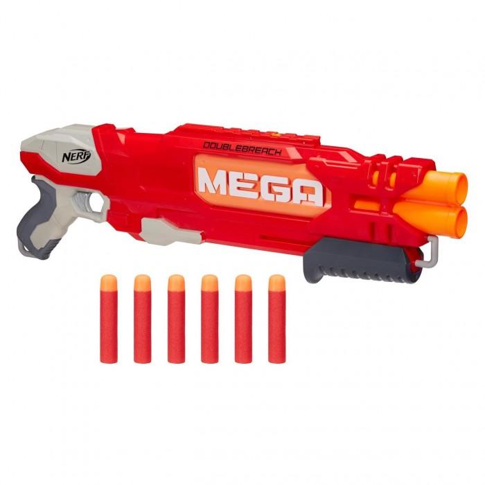 Игрушечное оружие Nerf Hasbro Мега Бластер Даблбрич игрушечное оружие nerf hasbro мега бластер даблбрич
