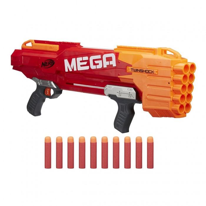 Купить Игрушечное оружие, Nerf Hasbro Мега Бластер Твиншок
