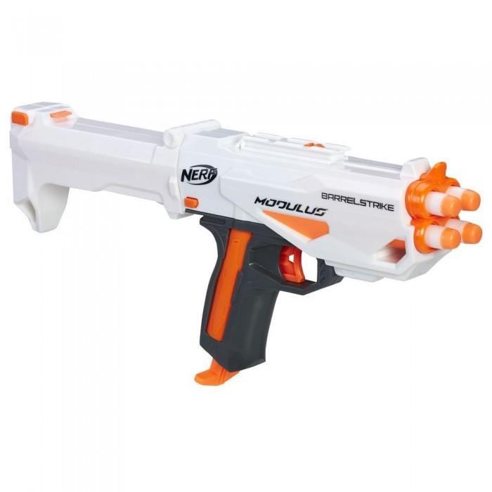 Игрушечное оружие Nerf Hasbro Модулус Бластер-аксессуар hasbro игрушка nerf бластер зомби двойная атака