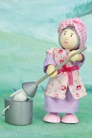 Куклы и одежда для кукол LeToyVan Кукла Уборщица мис Моп куклы и одежда для кукол весна озвученная кукла саша 1 42 см
