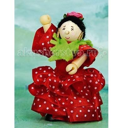 Куклы и одежда для кукол LeToyVan Кукла Испанская танцовщица Розита фламенко деревянные игрушки letoyvan игровой набор кролик и морковка