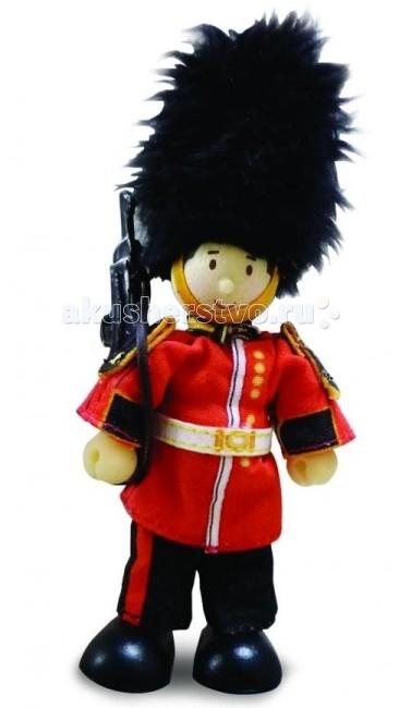 куклы и одежда для кукол letoyvan кукла мальтийский рыцарь Куклы и одежда для кукол LeToyVan Кукла Королевский гвардеец Джеймс