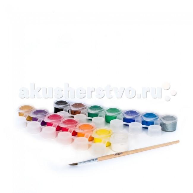 Crayola Набор из темперных красок и кисточки