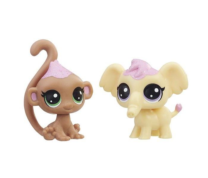Игровые фигурки Littlest Pet Shop Набор игровой 2 зефирных пета