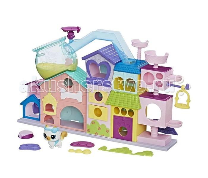 Игровые фигурки Littlest Pet Shop Набор игровой Апартаменты для петов игровой набор hasbro littlest pet shop зверюшка с волшебным механизмом 4 предмета от 4 лет а5130