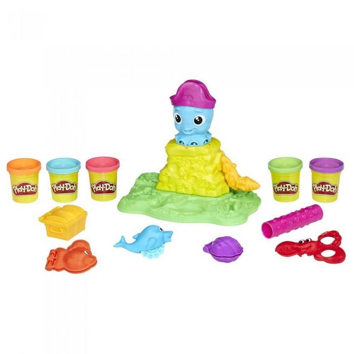 Творчество и хобби , Всё для лепки Play-Doh Набор игровой Веселый Осьминог арт: 541171 -  Всё для лепки