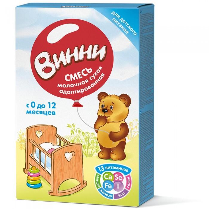 Молочные смеси Винни Смесь сухая молочная адаптированная 350 г wellber стельное белье для детской кровати 145x100cm