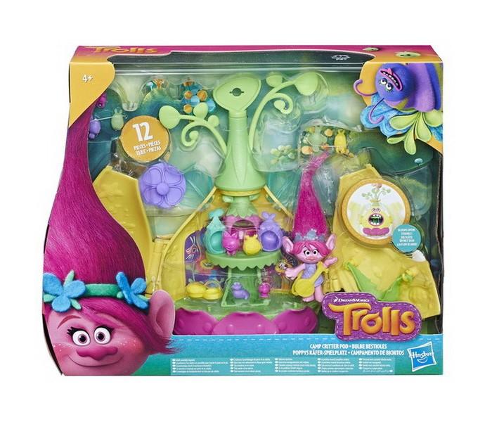 Игровые наборы Trolls Hasbro Игровой набор Тролли волшебный домик, Игровые наборы - артикул:541351