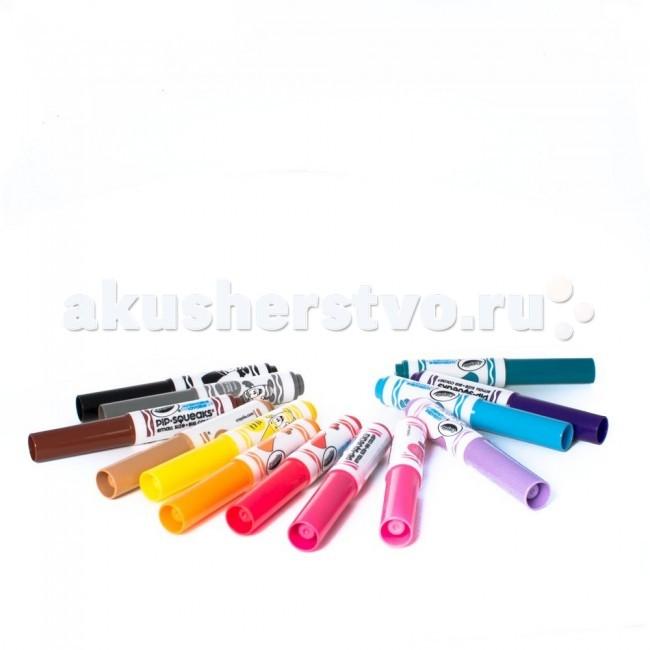 Фломастеры Crayola Набор из 14 смываемых мини-маркеров angel стакан для зубных щёток коричневый