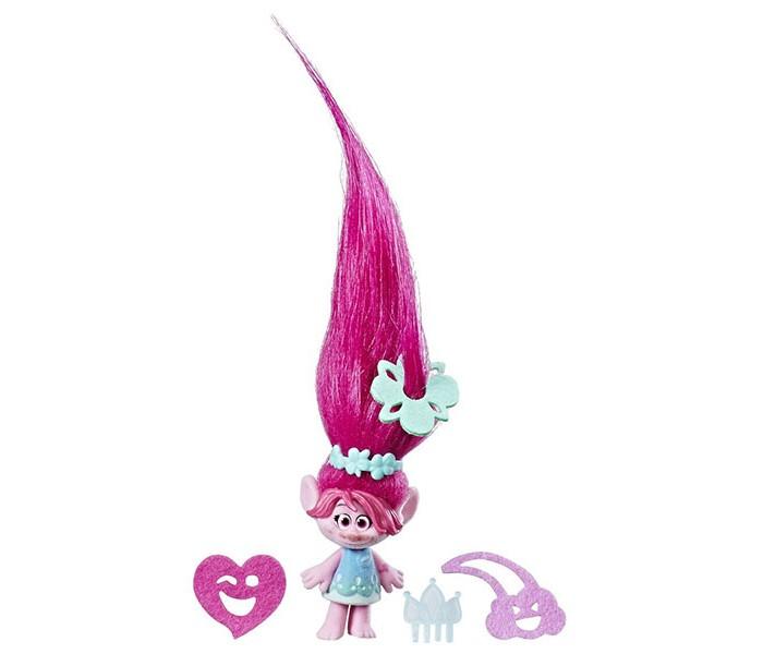 Игровые фигурки Trolls Hasbro Поопи с супер длинными поднимающимися волосами недорого