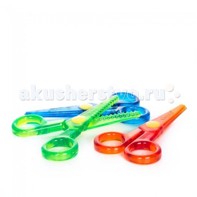 Подробнее о Crayola Набор безопасных ножниц с фигурными лезвиями набор лезвий для бритвы с 5 лезвиями