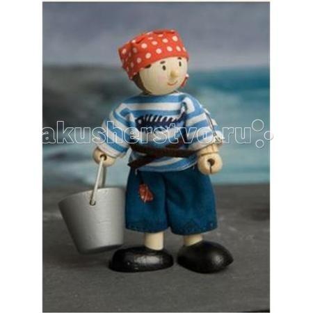Куклы и одежда для кукол LeToyVan Кукла Пиратский юнга
