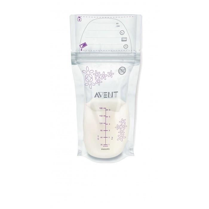 Philips Avent Пакеты для хранения грудного молока, 180 мл, 25 шт. SCF603/25