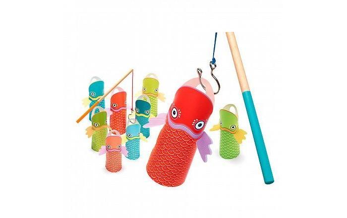 Деревянные игрушки Djeco Рыбалка 02010/18, Деревянные игрушки - артикул:542446