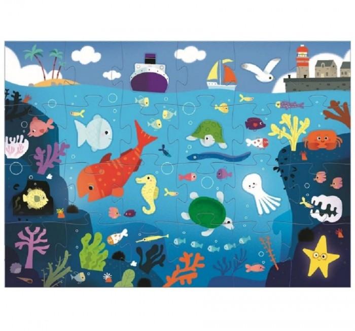 Купить Пазлы, Djeco Пазл-гигант Подводный мир