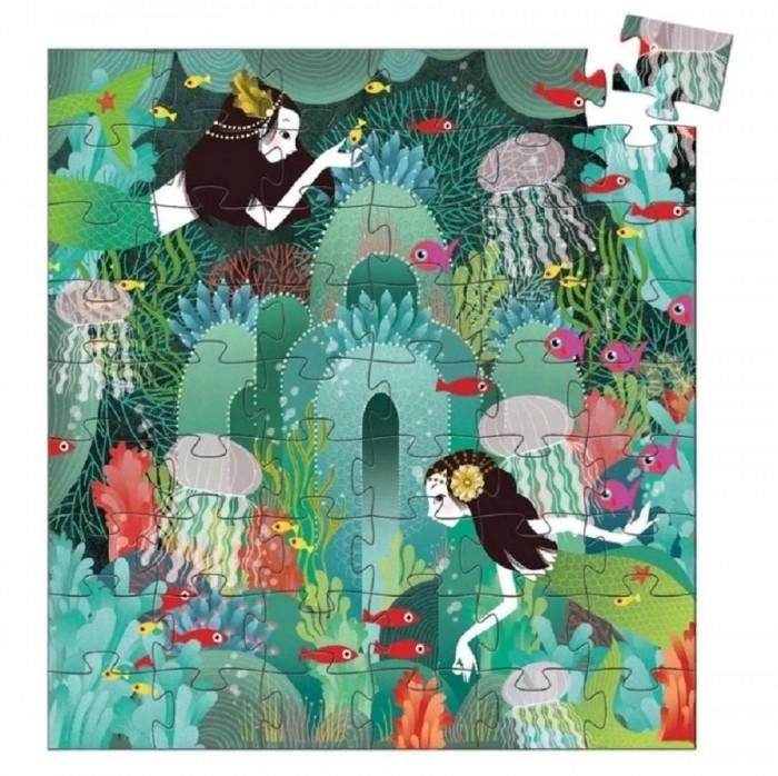 Картинка для Djeco Силуэтный пазл Морской рай