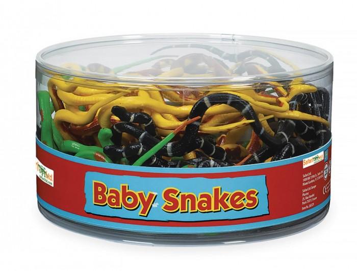 Игровые фигурки Safari Ltd. Набор фигурок Детеныши змей 72 шт. набор фигурок good dinosaur кеттл и раптор 62305